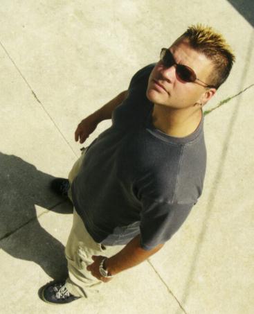 Andrew Muchmore - FusionRecords.net Photoshoot, Circa 1998
